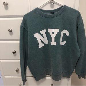 Women's Oversized Sweatshirt - NYC - Wild Fable